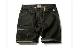 KRBL蓝布屋设计潮牌工装风牛仔短裤