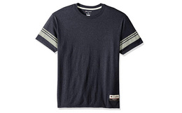 美潮Champion冠军学院风三混纺短袖T恤
