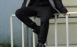 6.3折!DCSHOECOUSA 直筒裤侧小标素版束脚裤男休闲裤