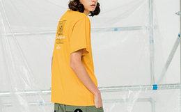 6.4折!Dusty个性图案字母印花街头风男短袖t恤