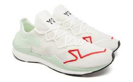 新品!Y-3网面麂皮拼接撞色透气男女同款运动鞋跑鞋