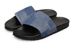 新品6.8折!BLESS SHOE日式丹宁防滑沙滩拖鞋