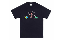 Noah x Frog Pocket联名卡通青蛙口袋短袖男女T恤
