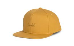 Herschel Supply 刺绣标志logo男女棒球帽简约平沿帽