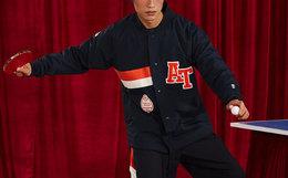 ANB/TeenTeam X ANB BRAND联名系列印花教练夹克