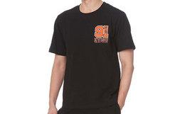6折!EVISU 数字logo标志印花套头全棉男短袖T恤