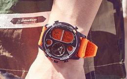 100元劵!Timberland/添柏岚大表盘运动双显男手表