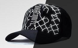 新品2.8折!DRACONITE撞色趣味图案弯檐棒球帽