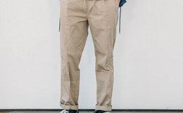 CHAMPION冠军WEB限定纯棉抽绳小脚裤男女休闲裤