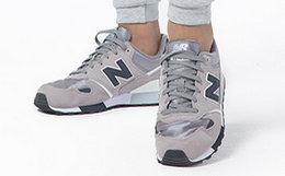 6.8折!NewBalance拼接系带男女运动鞋跑步鞋
