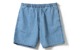 Lee x BEAMS 联名直筒简约多口袋两色牛仔裤男短裤