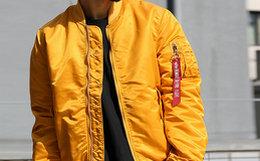 4.8折!阿尔法工业alpha贴布国旗MA1男女飞行夹克