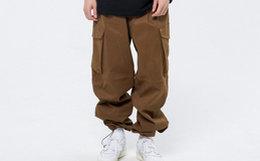 新品!Roaringwild/咆哮野兽贴身六袋可束脚男女工装裤