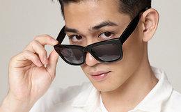 5.2折!音米方框加宽镜腿男女偏光太阳眼镜墨镜