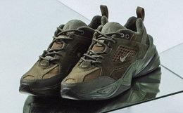 5.3折!Nike拼接多材质鞋面系带复古运动鞋男女跑鞋