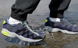 7折!ASICSTIGER轻量防水复古拼接男女运动鞋