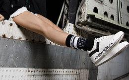6折!波尼/Pony圆头系带耐磨舒适滑板鞋男女运动鞋