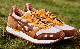 新品用劵优惠!ASICSTIGER x YMC联名麂皮拼接男女运动鞋
