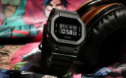 G-SHOCK X GORILLAZ合作限量礼盒方型表盘男手表