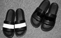"Bless Tyche 16 beachy ""DARK"" 情侣款拼色凉鞋"