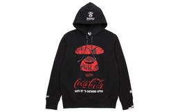 新品!Aape×Coca Cola联名迷彩猿颜连帽加绒卫衣