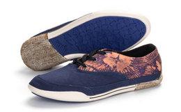 新品3.3折!英国Cushe扎染花色拼接诶低帮系带帆布鞋