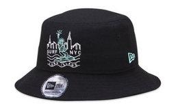 新品!NEW ERA NYC自由女神嘻哈街舞遮阳渔夫盆帽