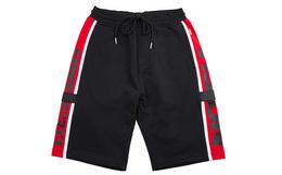 4折!VISION STREET WEAR 撞色条纹针织男休闲短裤