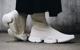 5折!Reebok Sock Runner高筒袜套撞色运动跑鞋