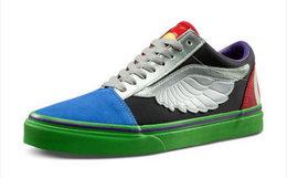 新品!Vans×漫威/复仇者联盟联名款超级英雄帆布板鞋
