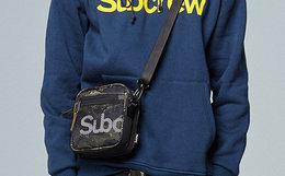 新款用券!Subcrew Sub系列2018新虎纹迷彩军事斜挎小方包