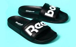 新品6.8折!美国REEBOK CLASSIC SLIDE撞色logo运动沙滩拖鞋