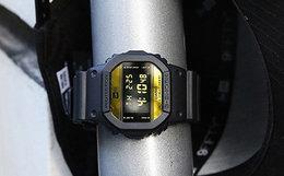 联名新品!美国NEWERA联名G-SHOCK黑金拼色多功能手表