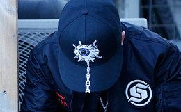 【新品限量】MishkaNYC X Subcrew联名款眼球绣棒球帽
