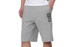 5折!EVISU 直筒佛头数字logo标志印花男卫裤休闲短裤