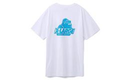 6.4折!美潮XLARGE大猩猩logo印花男女短袖T恤