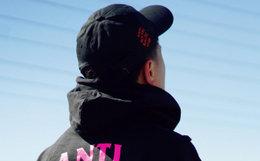3.3折!ASSC国旗logo限量款男棒球帽 吴亦凡同款