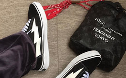 REVENGE X STORM Old Skool闪电划痕滑板鞋 多色限量