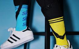 国潮 sockkey 百搭多色可选字母印花男女嘻哈中筒袜子