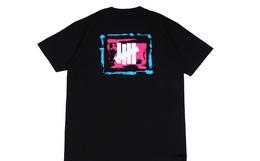 新品!UNDEFEATED日本限定手绘涂鸦logo男女短袖T恤