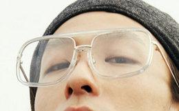 新品!BEASTIE透明方框圆弧框平光镜ins男女爆款