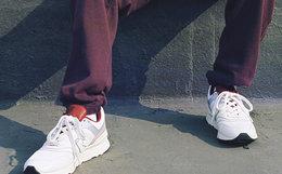 7.7折!New Balance 997H网面多材质拼接男女运动鞋