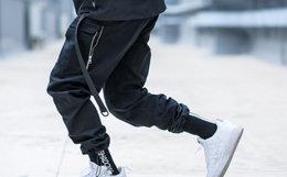 新品用券优惠!ENSHADOWER隐蔽者贴袋抽绳工装束脚裤