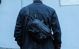 ENSHADOWER隐蔽者多口袋斜挎包男女腰包大容量手提包