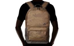 3.7折!Adidas阿迪达斯CLASSIC影迹迷彩拼色双肩包