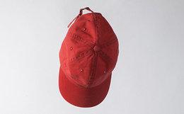 抢新!LGO LifeGoesOn红色简约棒球帽 运动街头