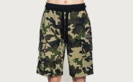新品8.5折!美潮MishkaNYC迷彩贴袋运动休闲短裤