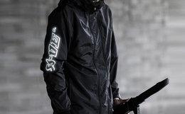 9折!ENSHADOWER 隐蔽者双拉链冲锋衣男轻薄连帽外套