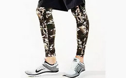 Undefeated Camo Tights legging 3M反光迷彩打底裤