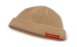 3折!HATer圆顶小贴标基本款男女冷帽针织帽